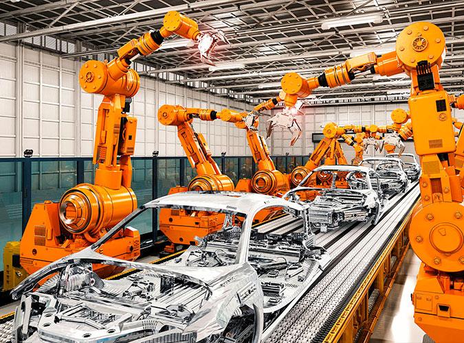 Automotive assembly line