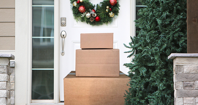 After the holidays, where do all those brown boxes go?