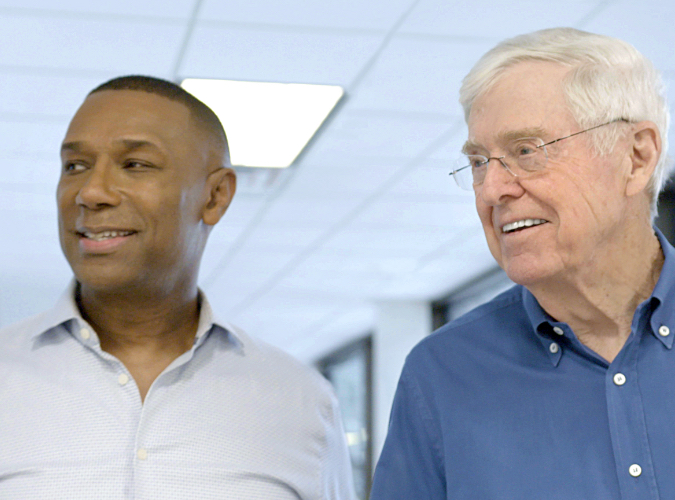 Charles Koch and SHRM